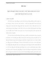 sáng kiến kinh nghiệm MỘT SỐ BIỆN PHÁP TỔ CHỨC TỐT TRÒ CHƠI DÂN GIAN CHO TRẺ MẦM NON 5-6 TUỔI