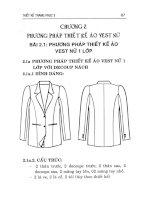 (Nhiều Trang) giáo trình thiết kế trang phục 3 - Võ Phước Tấn ĐH CN TPHCM phần 2