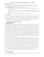 BẢNG THUYẾT MINH ĐỒ DÙNG DẠY HỌC: Mô hình sơ đồ vòng tuần hoàn lớn và vòng tuần hoàn nhỏ. Sử dụng cho phần hoạt động 2 của bài 7  Hoạt động tuần hoàn  Môn : Tự nhiên và xã hội  Lớp 3