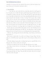 NGHIÊN CỨU KHOA HỌC SƯ PHẠM ỨNG DỤNG PHƯƠNG PHÁP DẠY HỌC TÍCH CỰC VỚI PHÂN TẬP ĐỌC LỚP 3