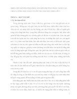 SKKN ĐỔI MỚI PHƯƠNG PHÁP, ĐỔI MỚI PHƯƠNG PHÁP, NÂNG CAO CHẤT LƯỢNG GIẢI TOÁN CÓ LỜI VĂN CHO HỌC SINH LỚP 3