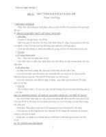 Giáo án bài đức tính giản dị của bác hồ
