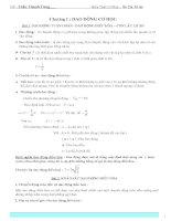 Kiến thức cơ bản vật lý lớp 12 ôn thi tú tài