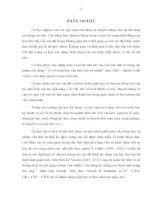 CƠ HỌ CƠ SỞ - PHẦN I TĨNH HỌC - CHƯƠNG 1 CÁC KHÁI NIỆM CƠ BẢN VÀ HỆ TIÊN ĐỀ CỦA TÍNH HỌC, LÝ THUYẾT VỀ MÔ MEN LỰC VÀ NGẪU LỰC