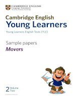 YLE movers sample papers volume 2