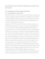 II. KẾT QUẢ THU HÚT VÀ SỬ DỤNG VỐN ĐTNN TẠI VÀO VIỆT NAM QUA 20 NĂM