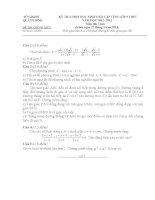 Đề thi học sinh giỏi môn toán 9 tỉnh Quảng bình năm học 2012 - 2013