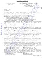 đề thi thử đại học môn vật lý 18