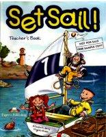 Set Sail - 1 - Teachers Book