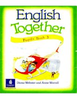 English together pupl''s book 3