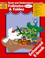 Read and Understand Folk Tales Grade 2 and 3