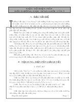 skkn một số biện pháp bồi dưỡng học sinh giỏi toán 5