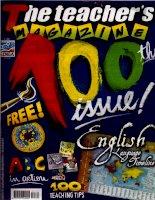 The teacher''s magazine (no 100) - 100 issue! english language timeline