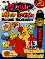 Magic happy english dictionarul