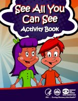 see all you can see activity book