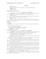 Tuyển tập đề ôn thi vào 10  môn ngữ văn