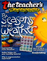 The teacher''s magazine - the seasons and the weather