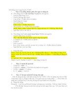 Hệ thống mẹo trong bài thi TOEIC