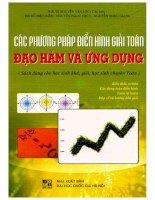 Các phương pháp điển hình giải toán đạo hàm và ứng dụng