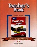 Career Paths Business English Teacher''s Book