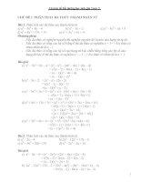 Chuyên đề bồi dưỡng học sinh giỏi toán  9