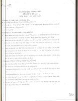 Tuyển tập đề thi cơ học đất Cao Học trường Đại học Giao Thông vận tải các năm