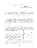 sử dụng phương trình tiếp tuyến của đồ thị hàm số để chứng minh bất đẳng thức