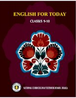 English for Today Classes 9-10