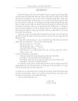 ĐỒ ÁN TỐT NGHIỆP THIẾT KẾ MÁY BIẾN ÁP ĐIỆN ÁP 35KV