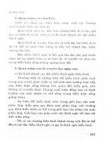 Hướng dẫn ôn tập và trả lời câu hỏi môn sinh học theo chủ đề (p5)