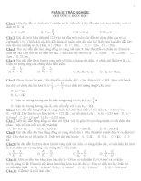 BÀI tập TRẮC NGHIỆM vật lý lớp 9