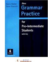 New Grammar Practice pre-int with key