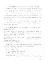 Hướng dẫn ôn tập và trả lời câu hỏi môn sinh học theo chủ đề (p4)