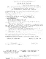 BIÊN BẢN NGHIỆM THU CÔNG VIỆC XÂY DỰNG NỘI BỘ CỦA NHÀ THẦU-Xếp rọ đá đường tránh cống Km180+97.16 ( Số lượng 06 rọ)