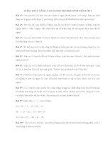 10 bài toán nâng cao dành cho học sinh giỏi lớp 1