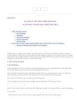 NGUYÊN LÝ THỨ NHẤT NHIỆT ÐỘNG HỌC VÀ ÁP DỤNG VÀO HÓA HỌC (NHIỆT HÓA HỌC)