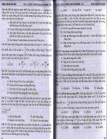 Vật lý 12 tóm tắt lý thuyết và bài tập trắc nghiệm tập 1 (p4)