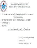 Slide tin học 11 bài 9 cấu trúc rẽ nhánh _P.T Hưng