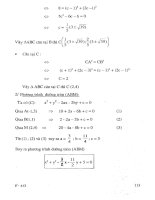 Tuyển tập 330 bài toán hình giải tích chọn lọc (p2)
