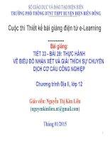 Slide ĐỊA LÍ 12 BÀI 29 THỰC HÀNH VẼ BIỂU ĐỒ NHẬN XÉT VÀ GIẢI THÍCH SỰ CHUYỂN DỊCH CƠ CẤU CÔNG NGHIỆP