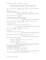 CHuyên đề bồi dưỡng toán lớp 9 tham khảo