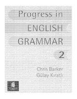 Progress in English Grammar 2