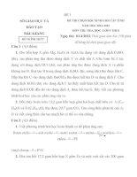 TUYỂN TẬP ĐỀ THI HSG HÓA LỚP 8-CÓ ĐÁP ÁN