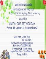 Slide tiếng anh 6 UNIT 6 OUR TET HOLIDAY _Bá Thùy ft Văn Nam