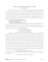 phân tích bài thơ việt bắc theo câu hỏi