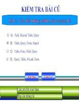 Slide tin học 12 bài 4 cấu trúc bảng _N.T.T Vân