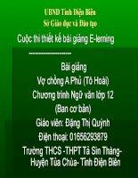 Slide văn 12 Vợ chồng A Phủ (Tô Hoài) _Thị QUỳnh