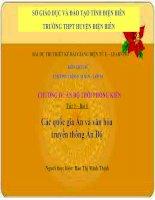 Slide Sử 10 bài 6 Các quốc gia Ấn và văn hóa truyền thống Ấn Độ _Minh Thịnh