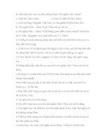 70 câu hỏi trắc nghiệm nguyên lý mác