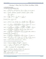 Giải bài tập toán cao cấp a1   chương 3 phép tính tích phân của hàm 1 biến